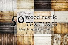 50 wood rustic textures @creativework247