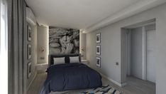 Bedroom design by Mialmi Design Bedroom, Bedroom Inspo, Bedroom Decor, Modern Contemporary, Entryway, Bedrooms, Interior Design, Grey, House