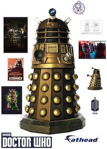 Doctor Who Giant Dalek Wall Decal - http://www.godoctorwho.com/giant-dalek-wall-decal/