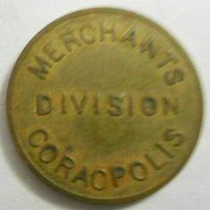 Coraopolis, Pennsylvania parking token