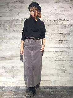 ペンシルスカートコーデ50選☆上品なスタイルで大人女性を演出しよう! | folk 2way, Autumn, Skirts, How To Wear, Fashion, Moda, Fashion Styles, Fall, Skirt