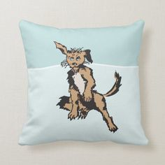 Cute Dog With Blue Puppy Eyes - Throw Pillow. Made from high-quality Simplex knit fabric, this square x polyester pillow is soft and wrinkle-free and has a hidden zipper enclosure. Puppy Eyes, Animals Images, Custom Pillows, Cute Dogs, Your Design, Moose Art, Puppies, Throw Pillows, Zipper