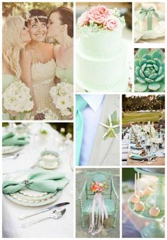 Mint crush #wedding #GoMint