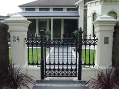 Front Gates Inspiration - Hindmarsh Fencing & Wrought Iron Security Doors - Australia   hipages.com.au