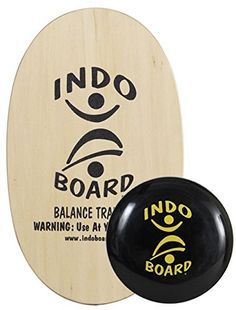 The Indo Board Original with Cushion is perfect for use in fitness training, physical therapy, senior fall prevention or with a stand up desk. It includes a 30″ X 18″ slip-resistant wooden deck, a 14″ diameter inflatable IndoFLO cushion and an instructional DVD with over 2...
