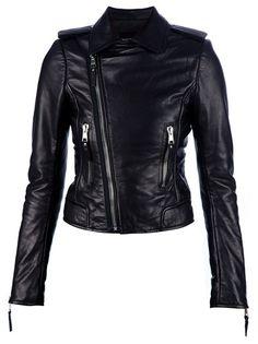 BALENCIAGA - Leather jacket 1