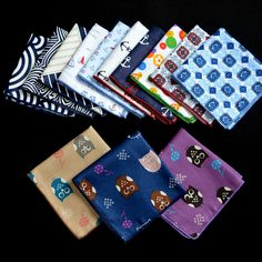 Fashion Cotton Men's Handkerchiefs Pocket Towel Brand Newest Floral Handkerchiefs Chest For Men Popular Handkerchief For Party