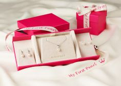 My First Pearl - the perfect range for any young lady looking to have her first piece of pearl jewellery.