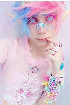 Super Ideas For Clothes Cute Kawaii Pastel Goth Pastel Goth Makeup, Pastel Punk, Pastel Goth Fashion, Kawaii Fashion, Pastel Goth Hair, Pastel Goth Style, Visual Kei, Kawaii Makeup, Cute Makeup
