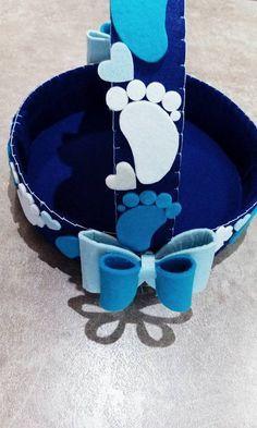 idea bimbi : cesto porta confetti nascita/battesimo