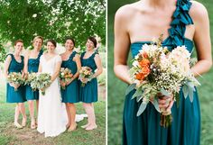 Bridesmaids.  I never had a dress with one shoulder strap, but I want to get a tattoo on the front of my left shoulder.  Of course it would be up to you if you'd want it to be visible.