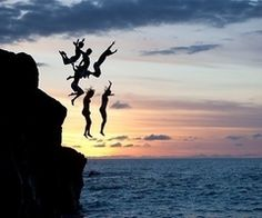 Cliff jumping check