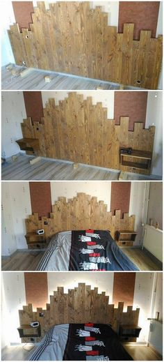 You can arrange the use of the wooden pallets by involving yourself into the idea of the interesting pallet headboard design. It is much simple with its designing concepts which you can even grab in the artistic form of the textured pattern hues. You would simply love it out.