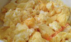 Jumari de oua cu branza Dukan Snack Recipes, Snacks, Dukan Diet, I Foods, Cauliflower, Macaroni And Cheese, Vegetables, Ethnic Recipes, Recipies