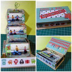 Mini album caja
