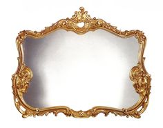 Antique Gold Finish Double Frame Mirror bit.ly/1mJJsqF