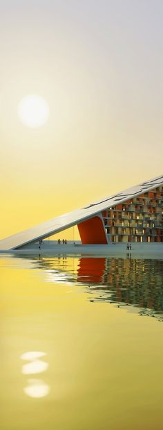 Housing+, for 60 zero-energy housing units on the Aalborg Waterfront. **