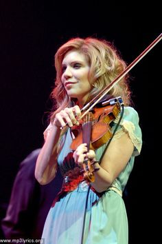 Love Alison Krauss and Union Station. She has such a beautiful unique voice