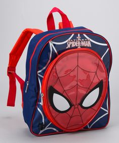You just can t beat  8 for a Spidey Man backpack  Zulily Backpacks For 27ac9b2167ead