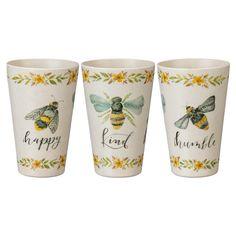 Antique Farmhouse, Farmhouse Kitchen Decor, Cozy Aesthetic, Green Palette, Kitchen Themes, Box Signs, Bee Happy, Stoneware Mugs, Bees Knees
