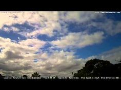 Adelaide weather time Lapse  Thu 09 04 2015