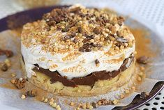 <p>Who doesn't love a no-bake cake? This one is incredibly simple and full of chocolatey, banana, flavor. Extra coconut whipped cream on top, please!</p>