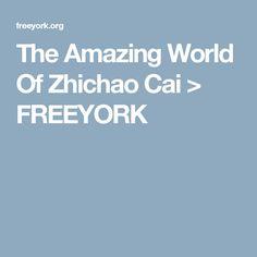 The Amazing World Of Zhichao Cai > FREEYORK