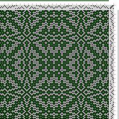 Hand Weaving Draft: xc00097, , 4S, 4T - Handweaving.net Hand Weaving and Draft Archive
