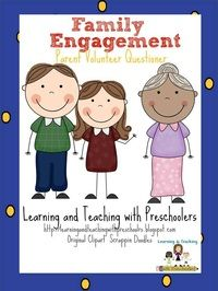 A freebie to help build family engagement in your classroom.