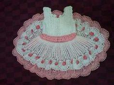 vestido 2 saias...by Crochetsruth