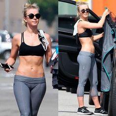 13. Julianne Hough in Yoga Pant
