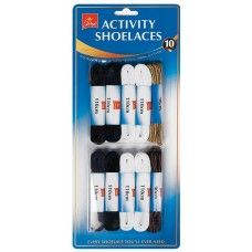 10 Pack Activity Laces2 Pack Extra Comfort Insoles #Wholesale #ShoeCare #Jump