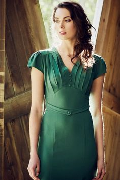 Bacall Dress #vintage #dress #1940s #fortiesfashion #forties #dress #classicdress #Summer2017 #prettyeccentric #retrofashion