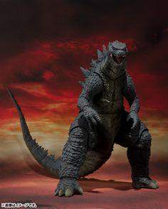 TAG Hobby » BANDAI 2014年9月發售: S.H. MonsterArts Godzilla(2014) 6,800Yen