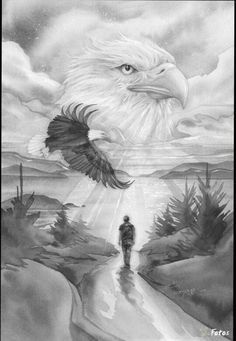 face of an bald eagle portrait emo goth animal bird. Black Bedroom Furniture Sets. Home Design Ideas
