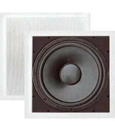 Pyle In-Wall High Power Subwoofer Laptop Speakers, Home Audio Speakers, Multimedia Speakers, In Wall Speakers, Powered Subwoofer, Ceiling, Electronics, Ceilings