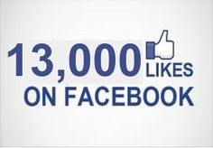 I will add 13000  Facebook Fan Page Likes To Improve your Social media Signals and SEO for $5