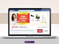 Pandas.com.br exibe sua variedade de produtos na campanha criada pela mglcom - http://link.mgl.com.br/zLlyjL #portfolio #campanha #moveis
