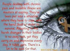 #spoonie #chronicpain #ourjourney #crps #pain #invisibleillness #painsomnia SHARE & MAKE AWARE