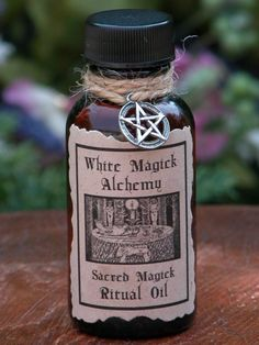 Sacred Magick Ritual Natural Perfume Oil .5 by WhiteMagickAlchemy, $6.95