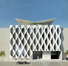 Polistudio A.e.s. Società Di Ingegneria · White wave facade