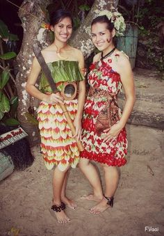 Beautiful Ladies from Samoa