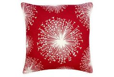 Red seed pillow OKL