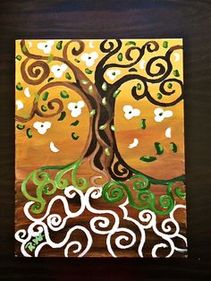 Fall Tree of Life painting