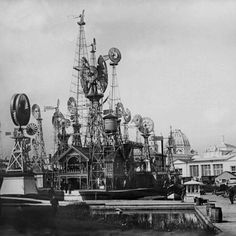 The Windmills display at the World Fair of 1893 in Chicago
