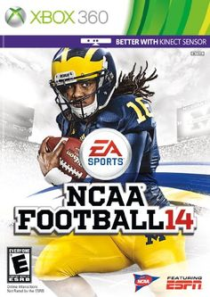 BUY NOW NCAA Football 14 Xbox 360 NCAA Football 14 unlocks the unpredictability and innovation of the college game. The new