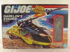 GI Joe Action Force Hasbro 1988 DARKLON'S EVADER rare HTF MISB 100% sealed box in Toys & Games | eBay