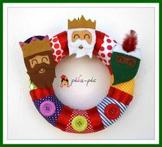 Felt Banner, Christmas Stockings, Christmas Ornaments, Three Wise Men, Nativity, Arts And Crafts, Merry, Rois Mages, 3 Reyes