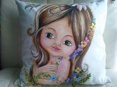Pintura em almofda