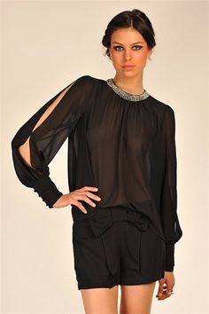 Lea Beaded Top at Necessary Clothing - - Studentrate offers 20% off!!